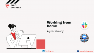 Working from Home: A year already