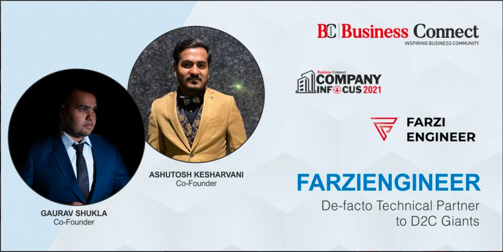 Farzicommerce By FarziEngineer Featured in Business Connect