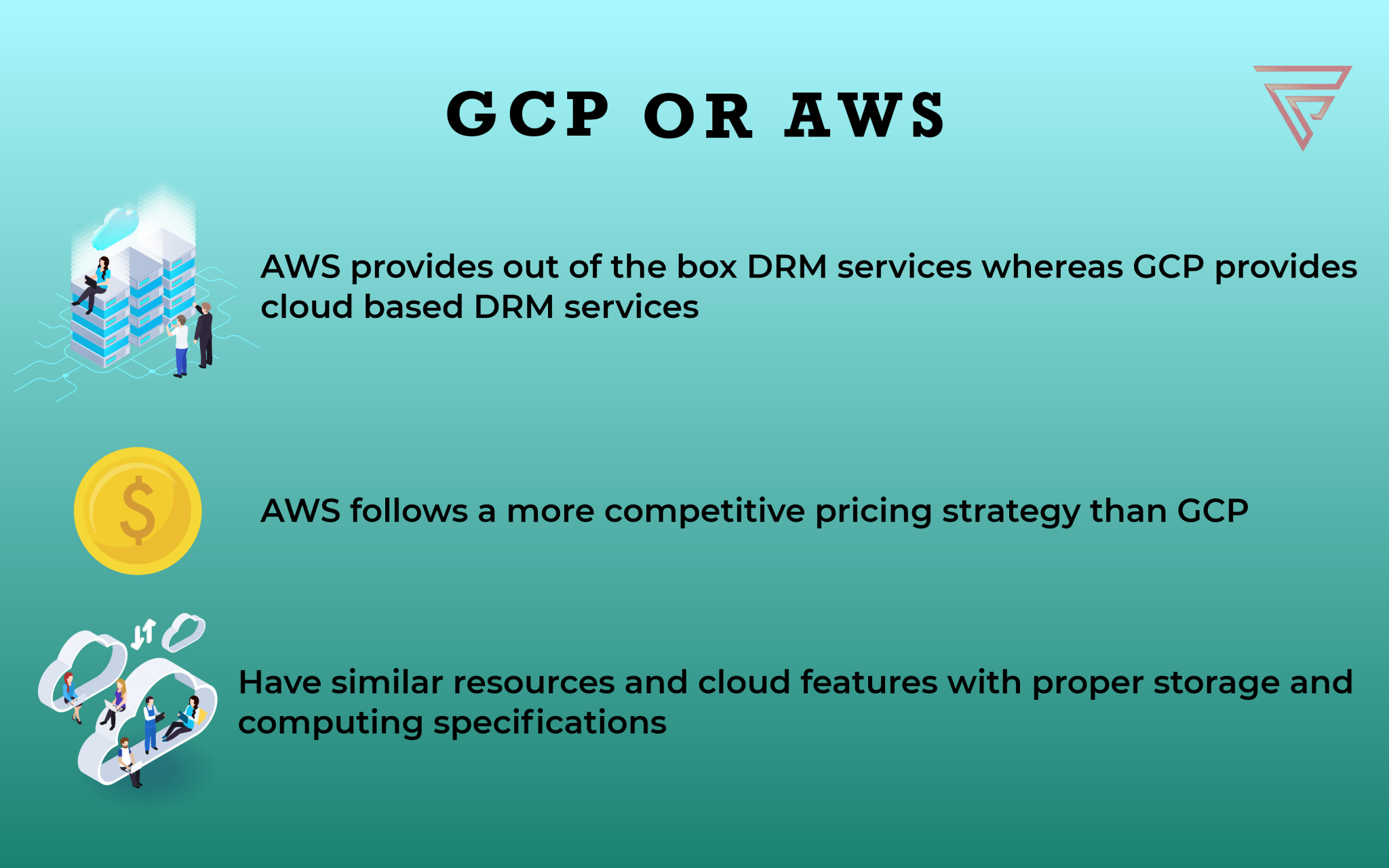 GCP and AWS – the cloud world