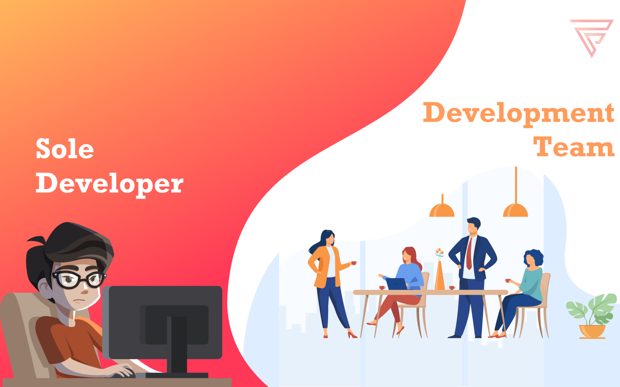 Solo Developer vs Development Team